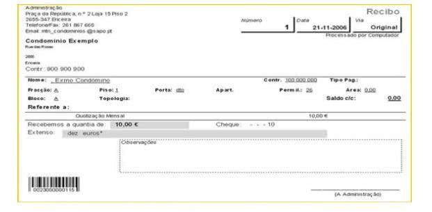 Modelos de Recibo de Depósito Bancário. (Foto: Divulgação)