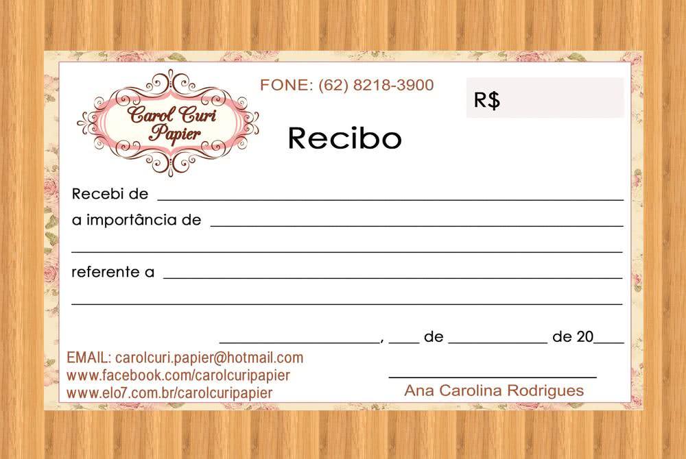 Modelos De Recibos Bonitos   apexwallpapers.com