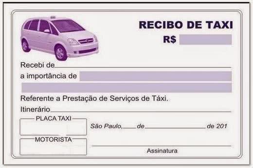 Recibo de Taxi 3