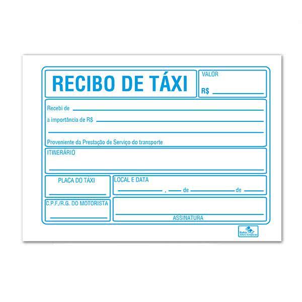 Recibo de Taxi 4