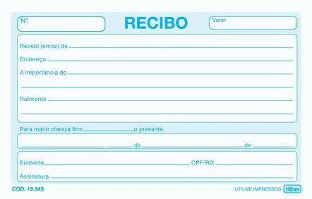 Recibo de Taxi 6