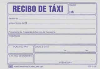 Recibo de Taxi 7